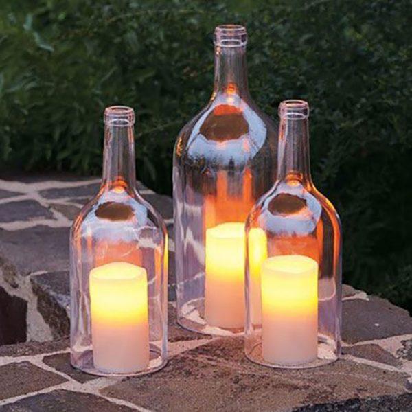 Glassflaskekutter. Glasskutter for flasker.