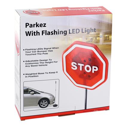 Parkerings sensor med LED signal. Hjelp til parkering i garasjen parkeringshjelper.