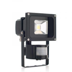 LED flomlys med bevegelsessensor