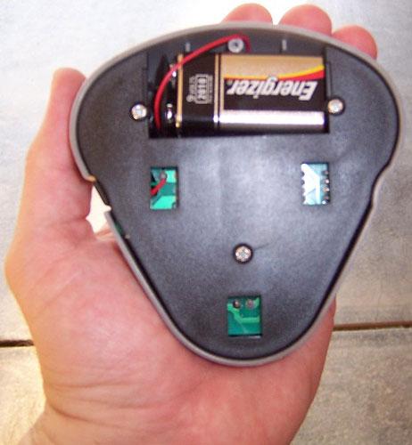 Garasje laser parkerings system