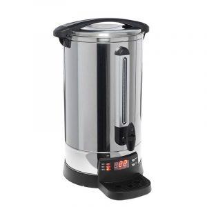 Vannkoker med temperaturinnstilling på 20 liter. Ølbrygging. Vann koker med tappekran.