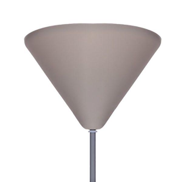 Hengende lampe i Silikon Pendel lampe, hvit