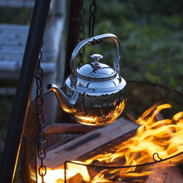 Kaffekjele for bål 1,5 l. Kjele kaffe, bålpanne.