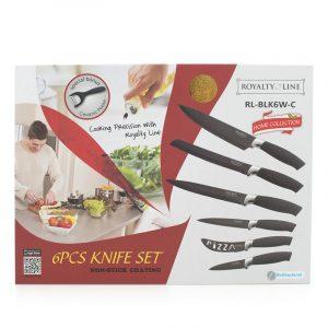 Knivsett fra Royalty Line Kniv, 7 deler.