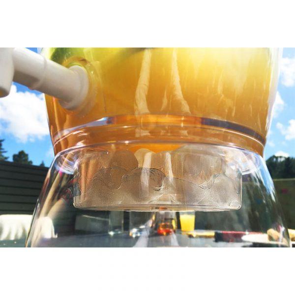 Drikkedispenser, 6 liter Beverage dispenser. Med løsning for kjøling.