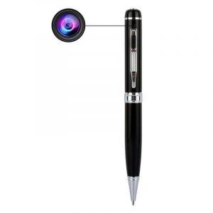 Kamerapenn, spionpenn full HD. AVI videoformat, USB. Video og mikrofon.
